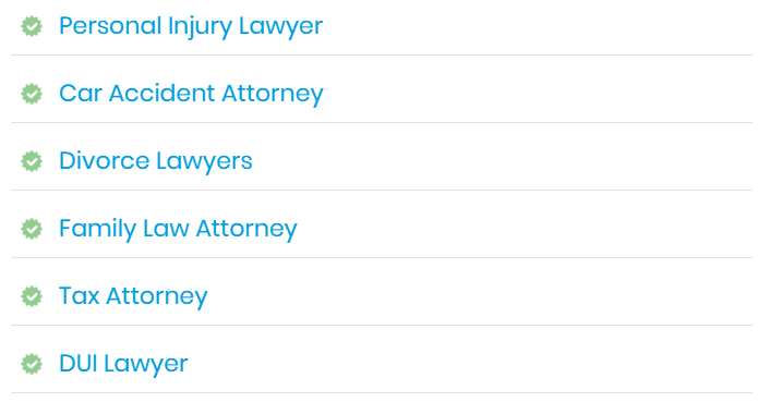 search for an attorney